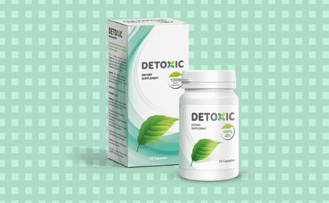 Detoxic kapsule